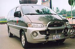 Phnon Penh Taxi Driver